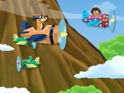 Play Dora The Plane Escort