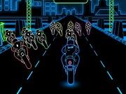 Play 3D Neon Bike Racing