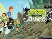 Play Ben 10 Spores Attack