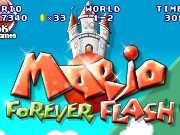 Play Mario Forever Flash