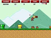 Play Super Mario Flash