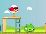 Play Angry Bird Egg Runaway