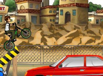 Play Ben 10 Street Stunt