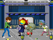 Play Ben 10 Vs Zombie Survival