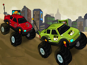 Play Ben10 Vs Rex Truck Champ