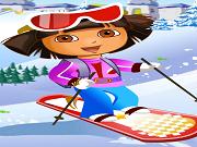 Play Dora Ski Jump