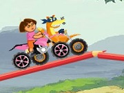 Play Dora The Explorer Racing