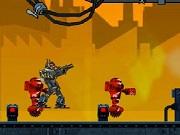 Play Extreme Robots War