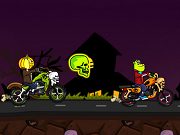 Play Halloween Bike Race