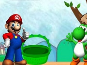 Play Mario And Yoshi's Eggs 2