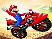 Play Mario Moto Race