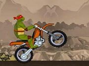 Play Ninja Turtle Bike Stunts