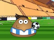 Play Pou Juggling Football