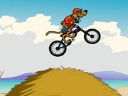 Play Scooby Doo Beach BMX