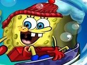 Play Spongebob Snowboarding