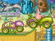 Play SpongeBob Tractor