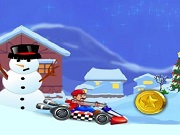 Play Super Mario Xmas Kart