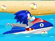 Play Super Sonic Ski Jet