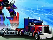 Play Transformers Race Machines