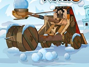 Play Winter Wars Catapult